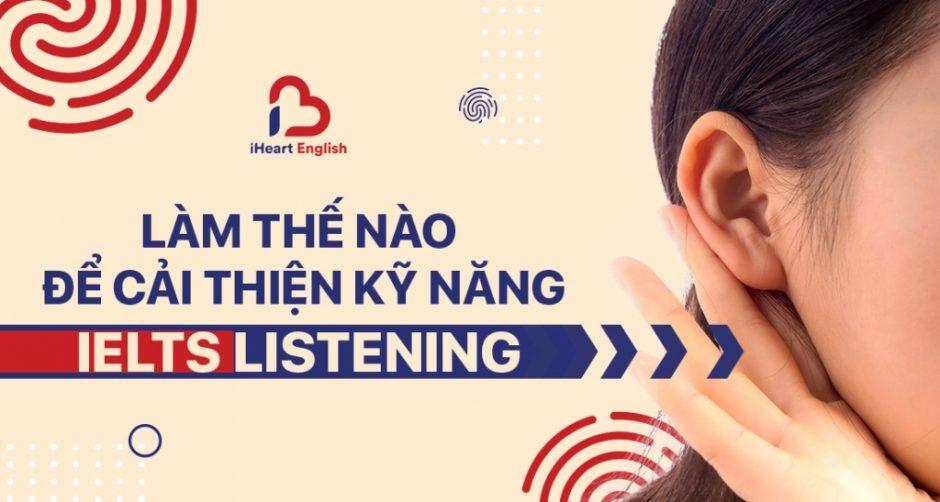 cải thiện IELTS Listening